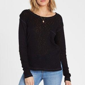Billabong Crew Sweater Shirt w Pocket